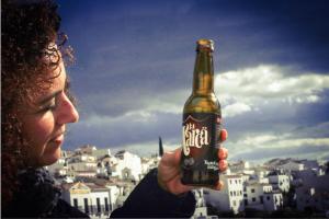 Foto ganadora Premio Especial La Axarca, cerveza artesana 2016