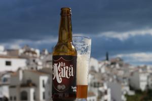 La Axarca, cerveza de Frigiliana (Málaga)