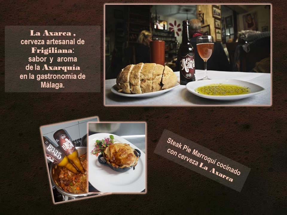 La Axarca, cerveza artesanal de Frigiliana: Sabor y aroma de la Axarquía en la gastronomía de Málaga