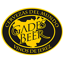 Logotipo de Gades beer